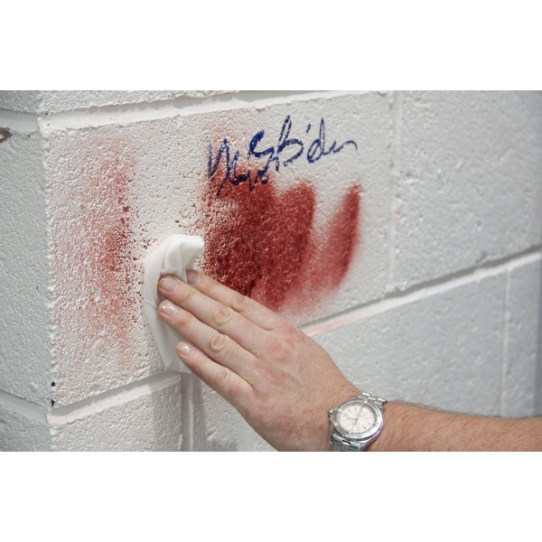 easy graffiti removal from walls