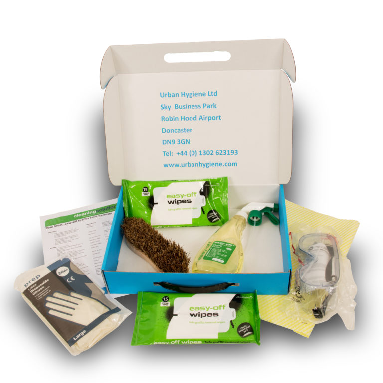 easy-off Safe Clean Graffiti Removal Kit