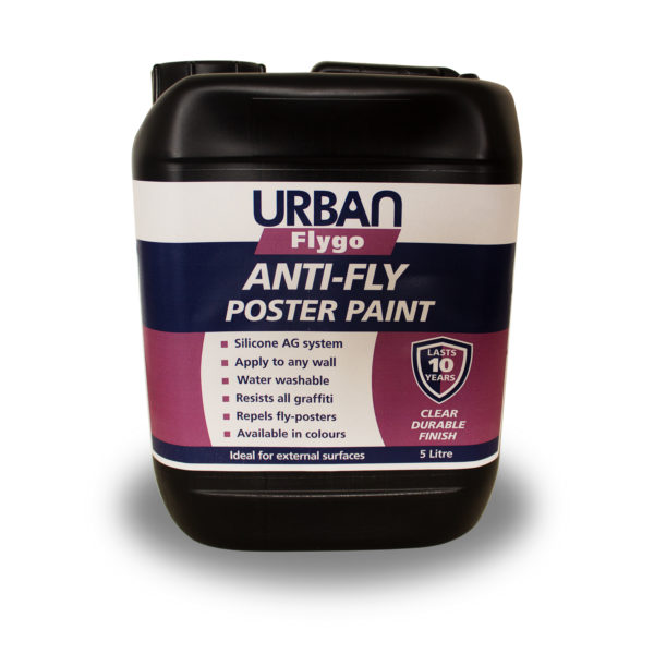 Flygo Clear Anti-Fly poster Paint