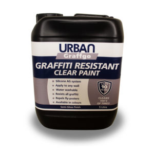 Clear Graffiti Resistant Paint
