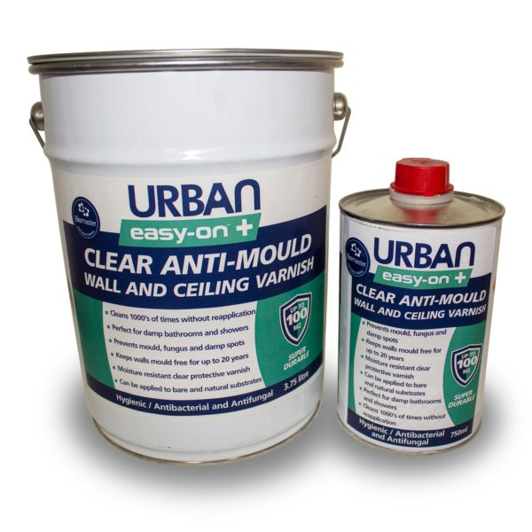 Anti-Mould Wall and Ceiling Varnish - 4.5ltr