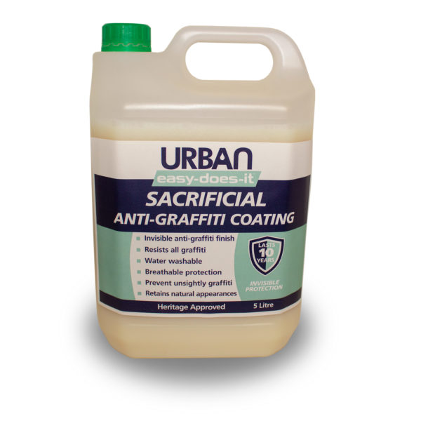 Sacrificial Anti-Graffiti Coating System - 5ltr