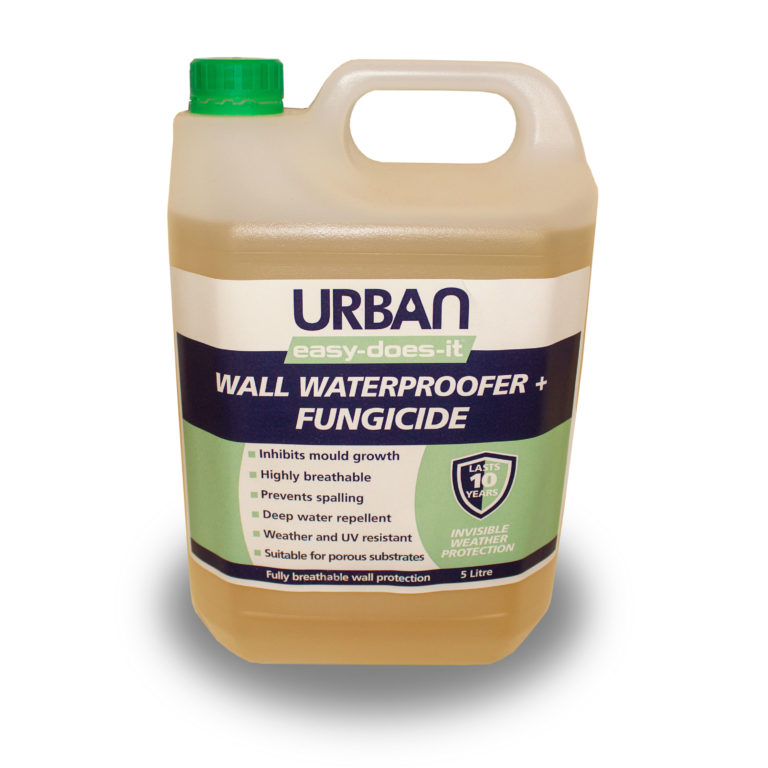 Wall Waterproofer + Anti-Mould Fungicide - 5ltr
