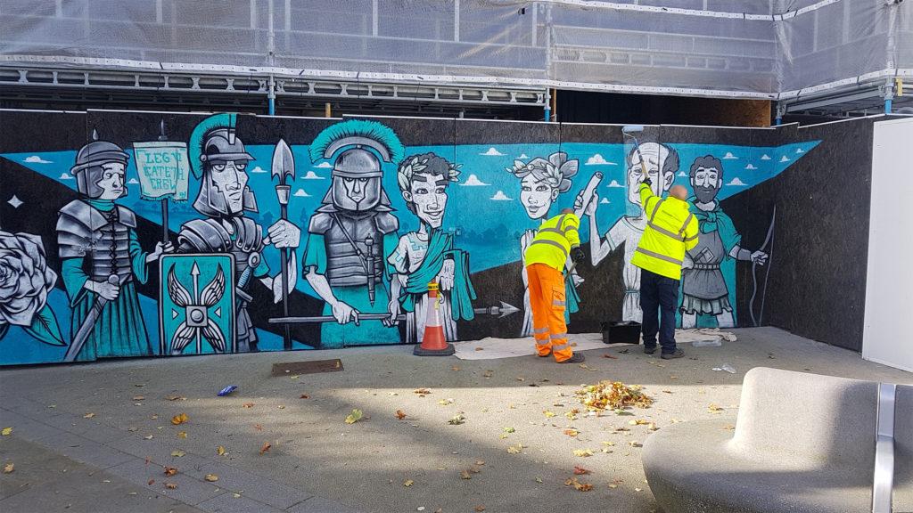 Doncaster Market Mural